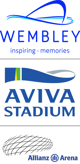 international stadium logos