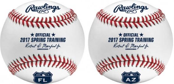 2017 MLB Spring Training Baseballs