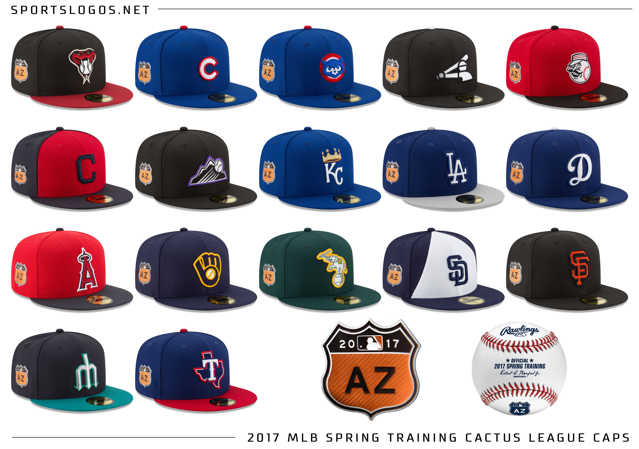 e35bcdb5d7ec3 MLB Unveils 2017 Spring Training Uniform Designs