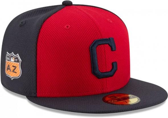 2017 MLB Spring Training Caps - Cleveland