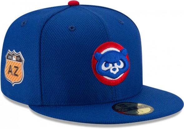 2017 MLB Spring Training Caps - Cubs