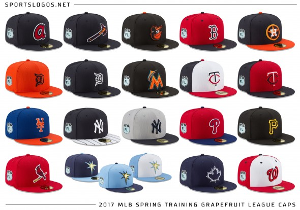 2017 MLB Spring Training - Caps Grapefruit League