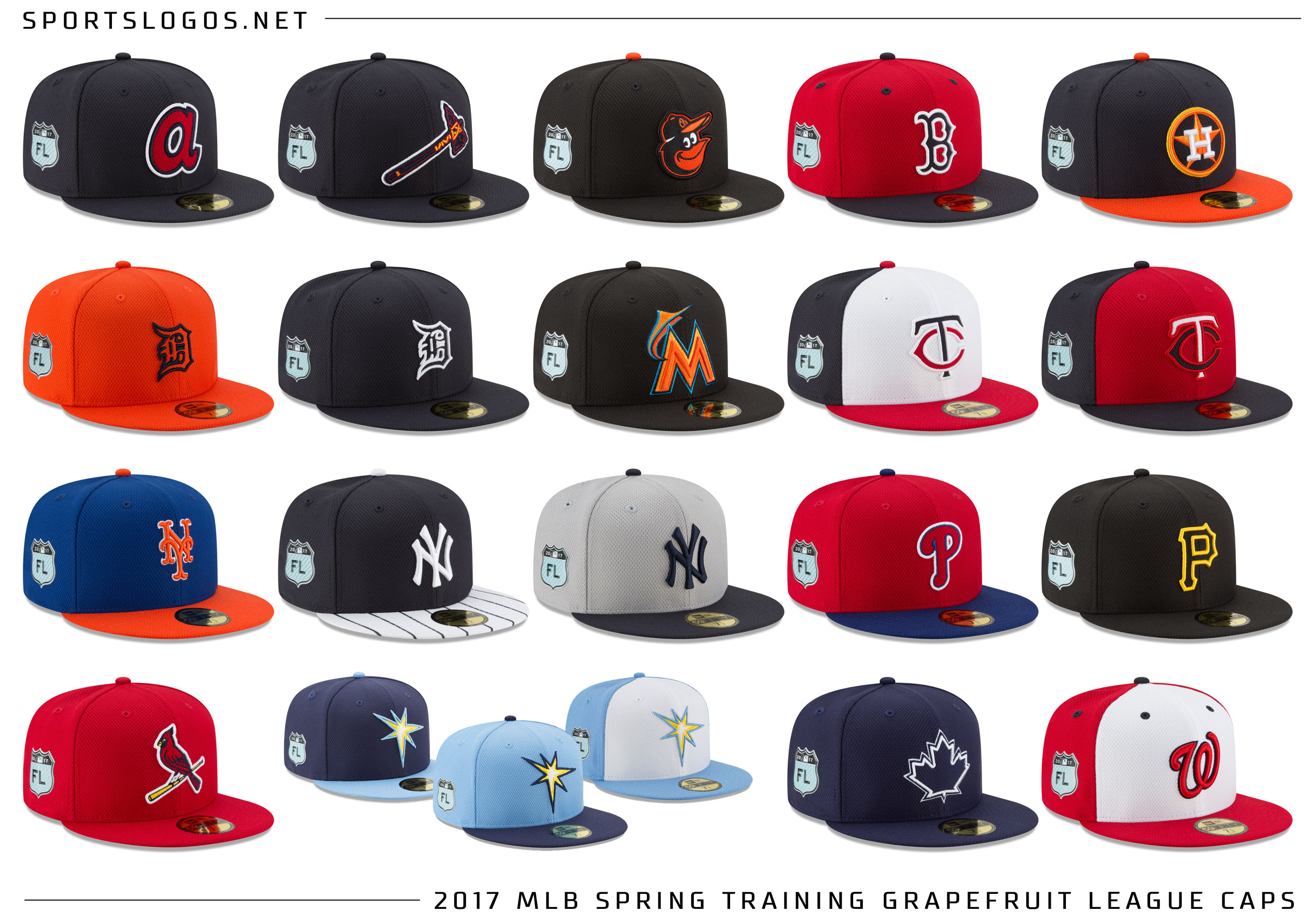 f6946500d MLB Unveils 2017 Spring Training Uniform Designs
