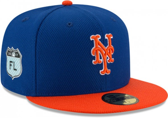 2017 MLB Spring Training Caps - NY Mets