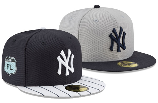 2017 MLB Spring Training Caps – NY Yankees  0d414939ded