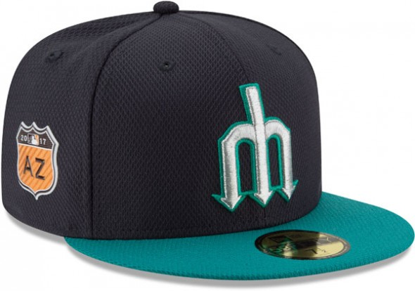 2017 MLB Spring Training Caps - Seattle