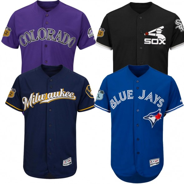 2017 MLB Spring Training Jerseys