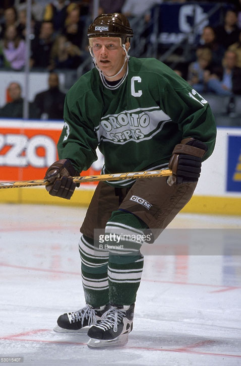 Toronto previously wore a St Pats throwback in March of 2002