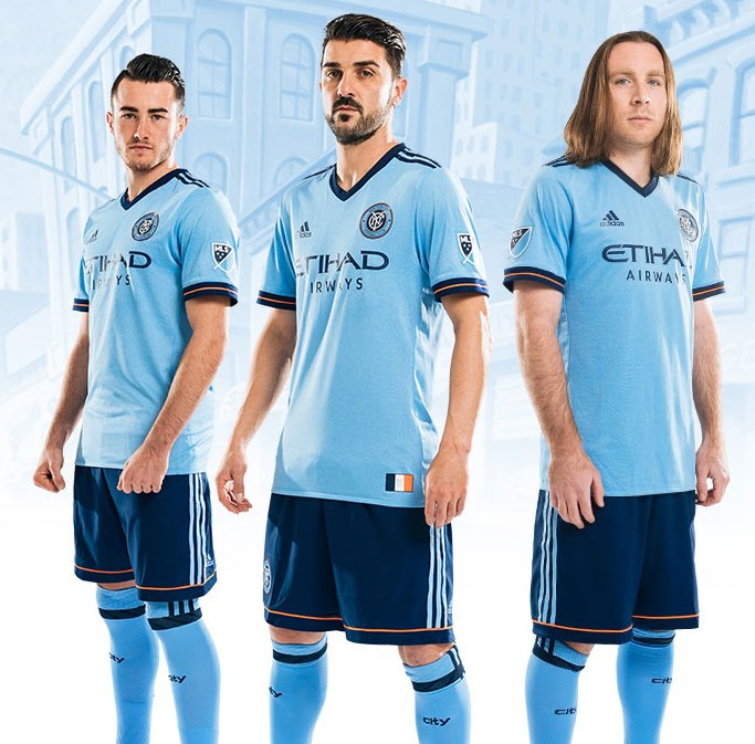 New York City FC Unveils New Home Jersey
