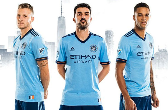 NYCFC New Uniform