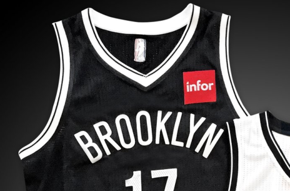 Brooklyn Nets announce Infor as jersey sponsor for 2017-18