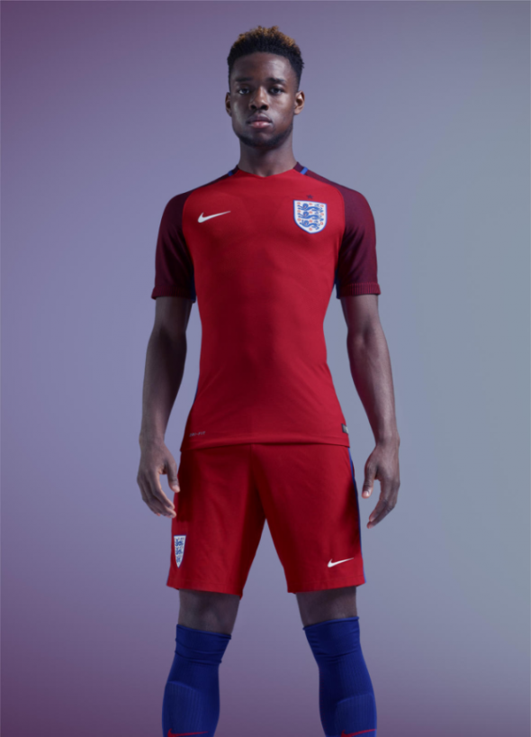 Nike red england