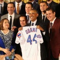 Obama, Cubs