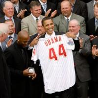 Obama, Phillies