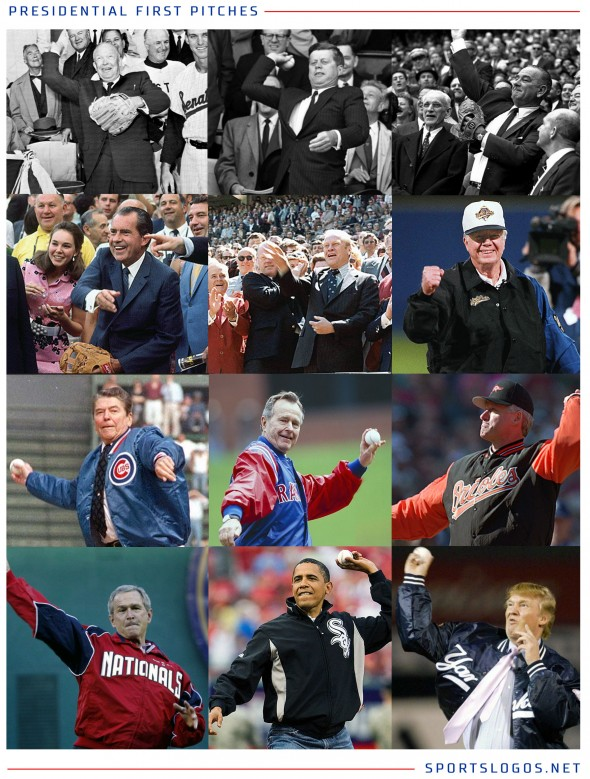 Presidents First Pitches