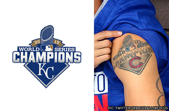 Royals Cubs Tattoo