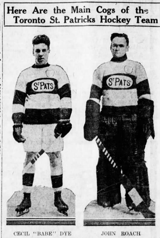 Toronto St Pats 1922-23