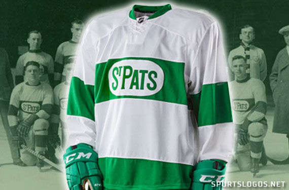 Leafs Go Green, Unveil St Pats Throwback Uniform