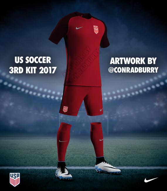 US Soccer 3rd Kit Leaked