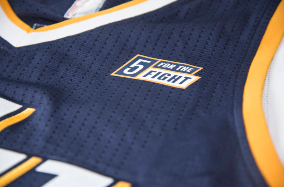 Utah Jazz will use jersey sponsorship to raise money for cancer research