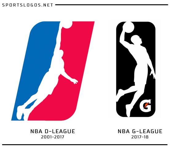 dleague logo compare