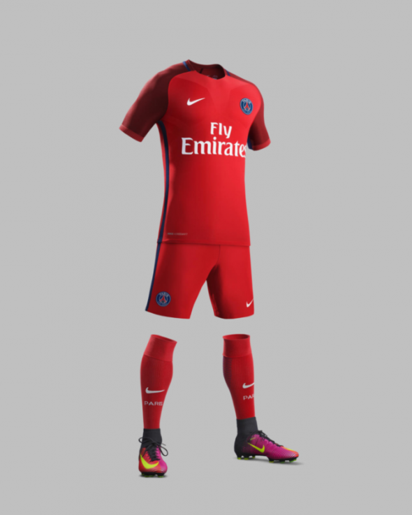 nike red paris saint germain