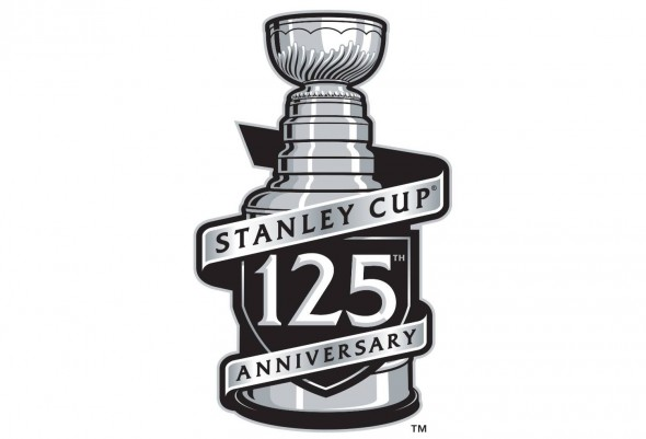 Stanley Cup 125th Anniversary Logo