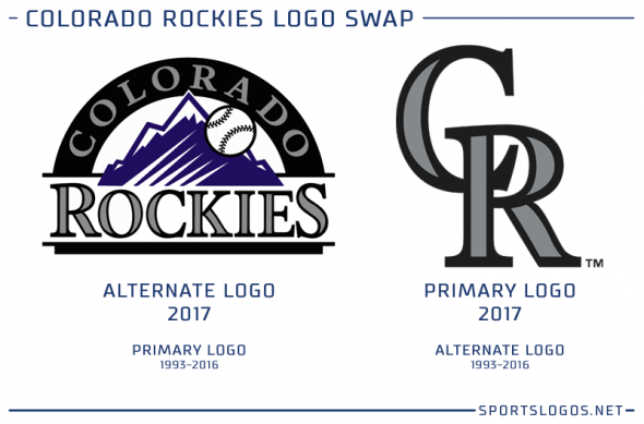 Colorado Rockies New Logo 2017