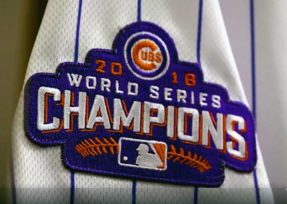 Cubs WS patch
