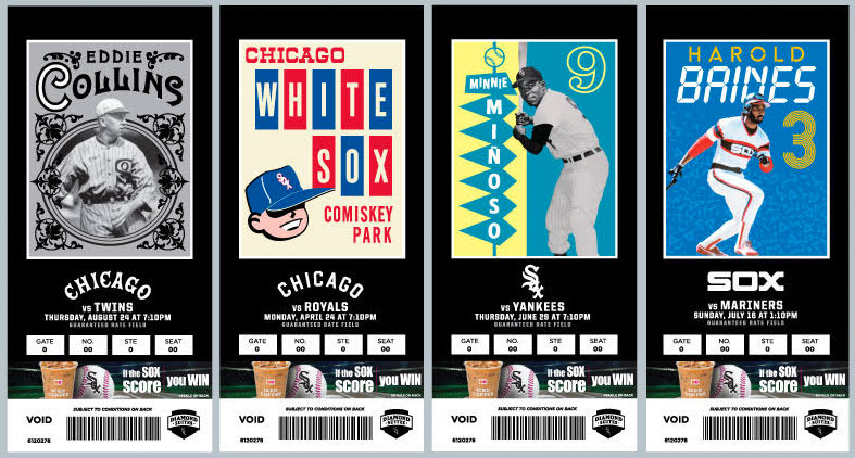 White Sox Embrace the Lost Art of Ticket Design