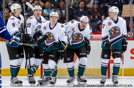 Manitoba Moose Throwback Uniform