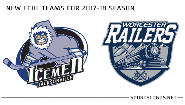 New ECHL Teams 2017-18