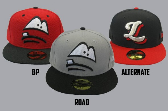 New Lansing Lugnuts Caps 2017