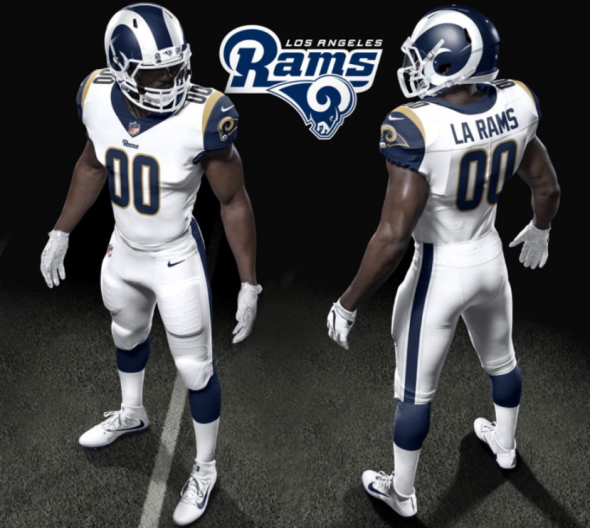 Rams 2017 uniforms