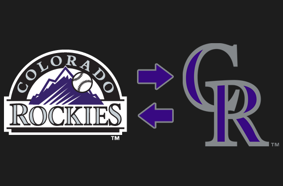 Rockies Logo Swap 2017