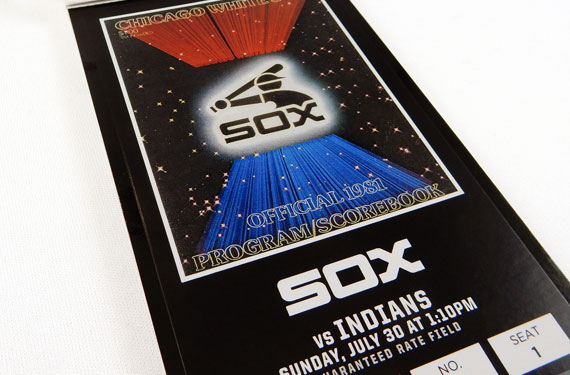 White Sox Ticket Design