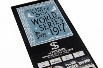 White Sox Ticket Design