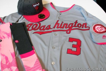 2017 MLB Mothers Day Uniform