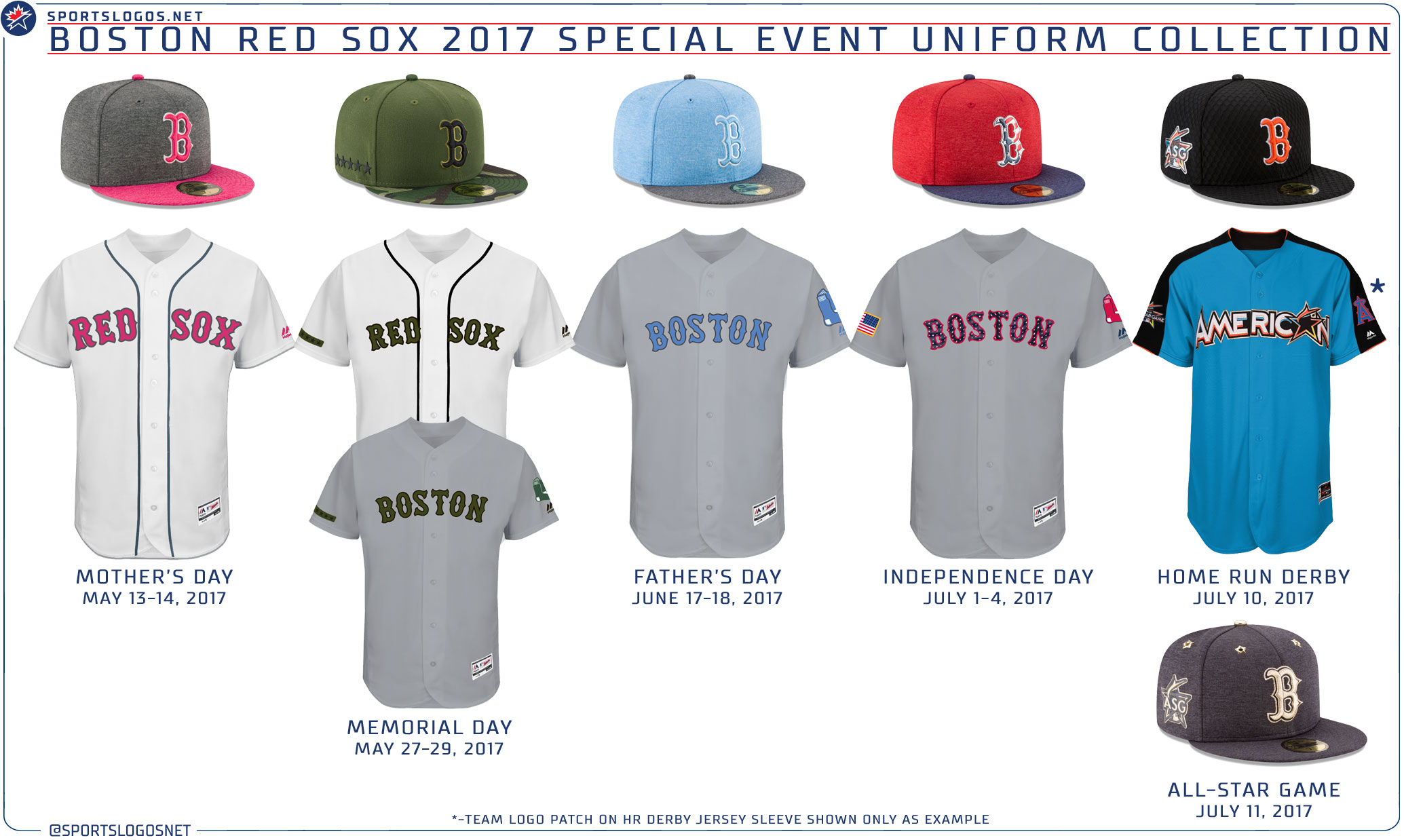 MLB Unveils 2017 Holiday Uniforms 3c34a773248f