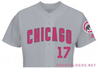 Chicago Cubs 2017 Mother's Day Jersey