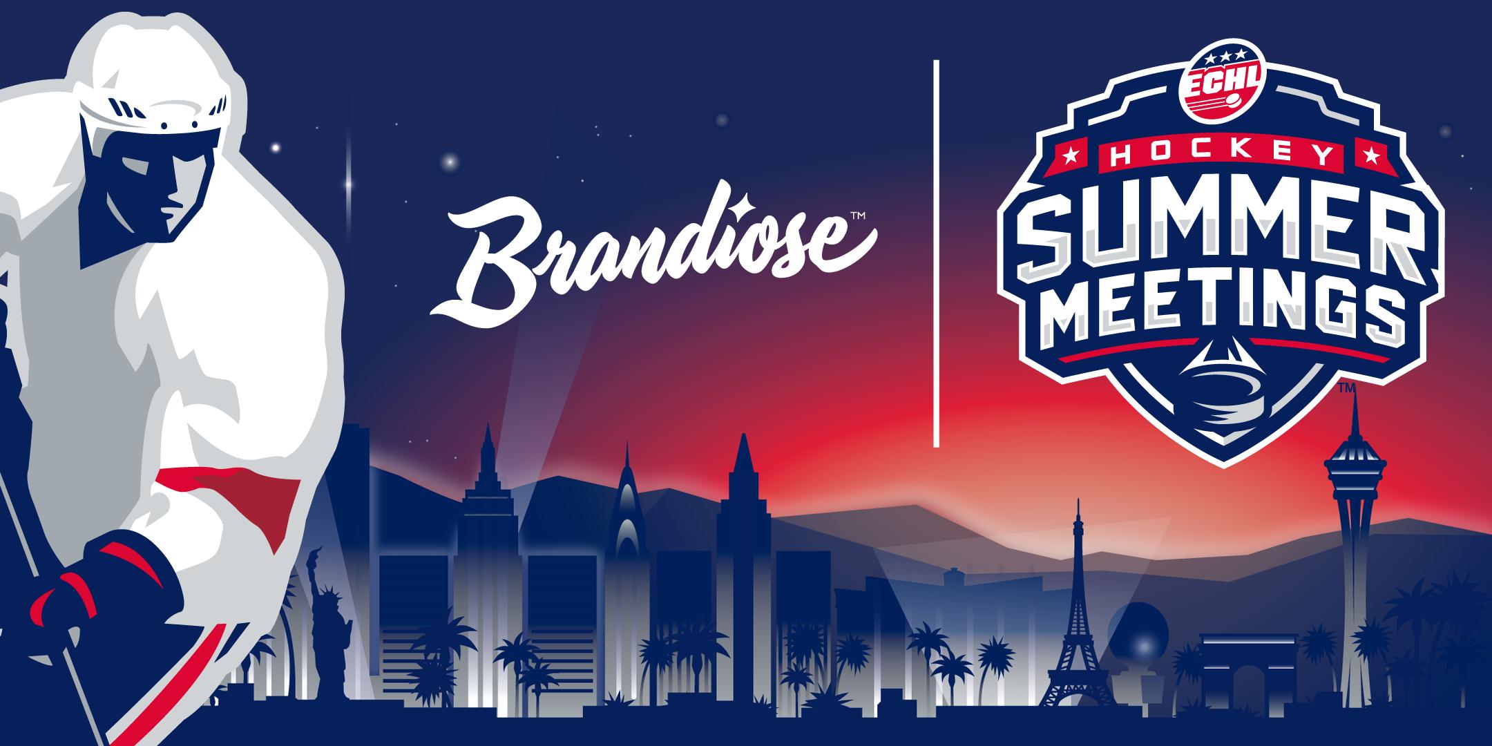 ECHL, Brandiose partner to brand hockey summer meetings