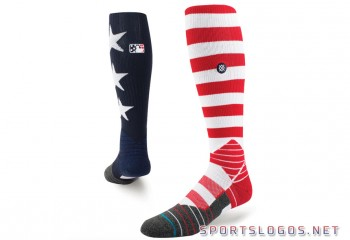 MLB Independence Day Socks 2017