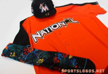 Miami Marlins 2017 Home Run Derby Uniform