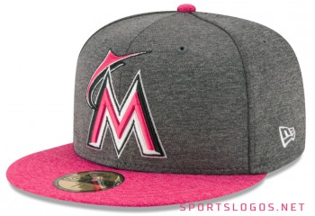 Miami Marlins 2017 Mother's Day Cap