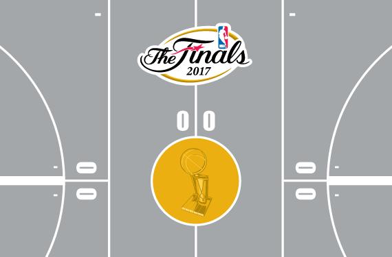 2017 NBA Playoffs Court Bracket – Round 1
