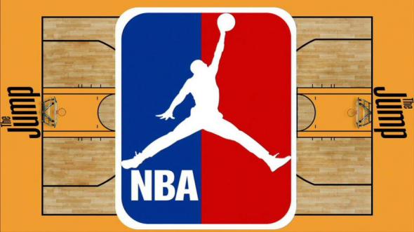 NBA logo jordan