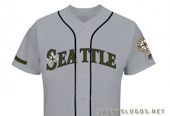 Seattle Mariners 2017 Memorial Day Jersey