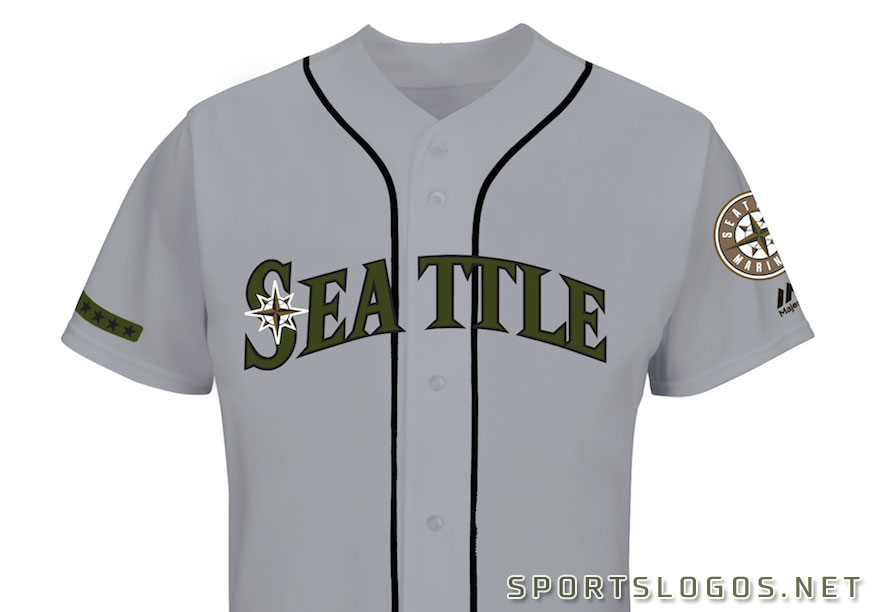 Seattle Mariners 2017 Memorial Day Jersey  42cca7e24