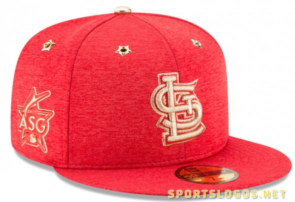 8c704839232 St Louis Cardinals 2017 MLB All-Star Game Cap