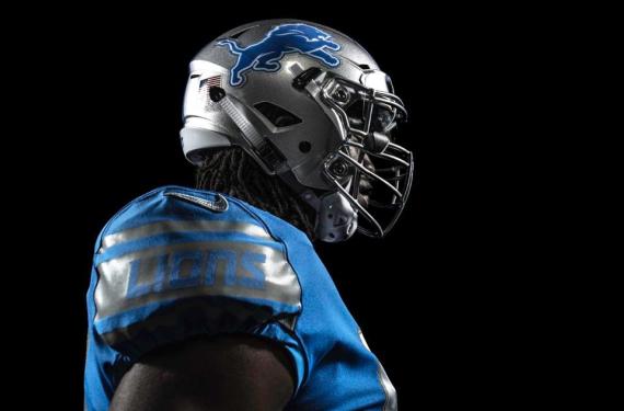 Detroit Lions officially unveil new uniforms